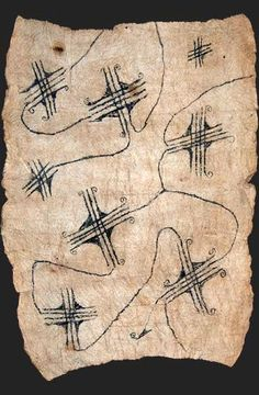 Africa | Mbuti pygmy loincloth textile, bark cloth painting, Ituri rain forest, Congo | 20th century