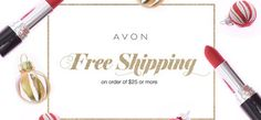 FREE SHIPPING!!  The Avon elves are here to help! Shop my eStore for FREE Shipping w/ CODE: FREE4U #AvonRep