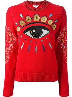 Kenzo Lotus Eye Sweater