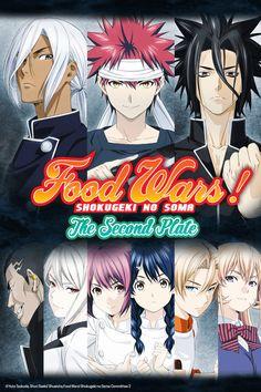 Food Wars! The Second Plate - Empezado el 2/7/2016 - Terminado el 24/9/2016