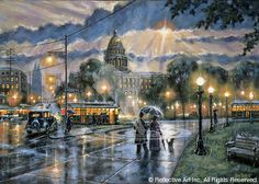 Gene Stocks - wonderful South Dakota artist and the brother of my former brother-in-law Steve Stocks -