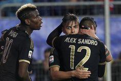 @Juventus Con i goal di Cuadrado e Paulo Dybala nella ripresa, la Juve conquista la 14ª vittoria in campionato, superando 2x0 il Frosinone in una gara molto combattuta #9ine