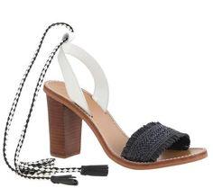 J.CREW 'Raffia ankle-tie high heel sandals', $178 // #fashion