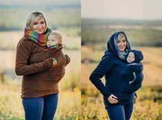 2 en 1 maternité de manteau de Portage Portage par Comfort4Pregnant