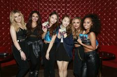 Little Mix with Japanese fans