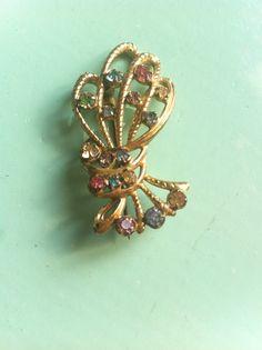 Beautiful antique vintage paste crystal by yorkshiretreasure