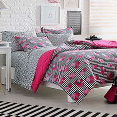 betsey johnson bedding 'garden variety' comforter set | betsey