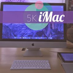 Checking out the 5K iMac!