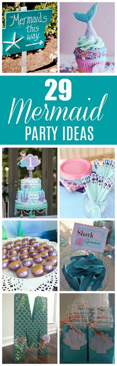 29 Magical Mermaid Party Ideas - Pretty My Party