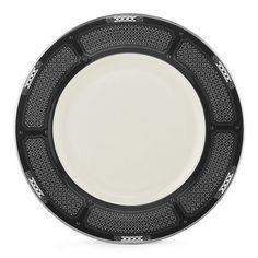Lenox Hancock Platinum Ivory China 9 Accent Plate Lenox,http://www.