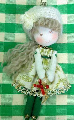 Fashionable mini Doll (X'mas⑰ · White)