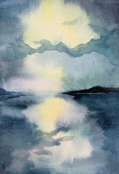 Watercolour by Helen Wells