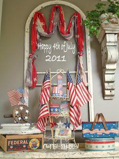 Dorothy Prudie Vintage: July 4th Decorating Ideas