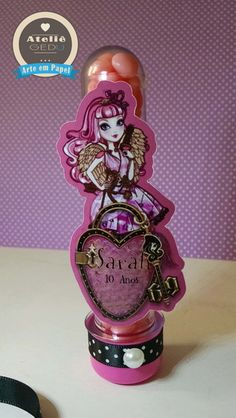Tubete Ever After High Ever After High, Festa Party, Princess Party, Monster High, Birthdays, Printable, Kids Part, Personalized Ornaments, 10 Years