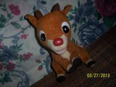 Vintage Antique Toy Rudolph the Red Nose by NAESBARGINBASEMENT, $8.00
