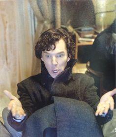 {WHAT THE FU K #Sherlocked promo pics}