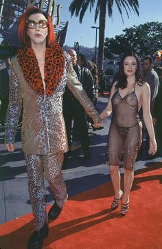 The greatest VMA moments of all time? Rose McGowan, 1998