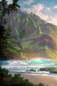One of my favorite artists - Roy Tabora out of Hawaii.