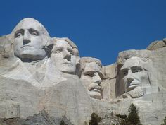 Mont Rushmore, National Memorial, Dakota du Sud, USA