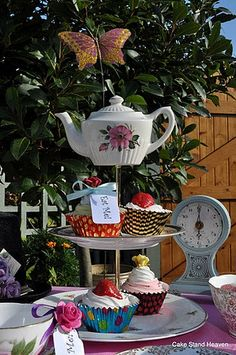 Mad Hatter's Cake Stand | Flickr - Photo Sharing!