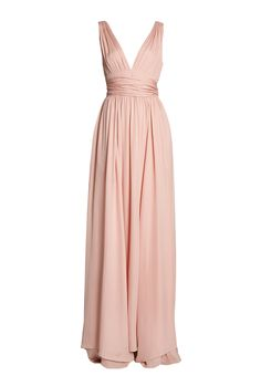 Silk Goddess Gown by Halston Heritage