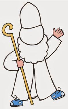 Geef Sinterklaas zijn mooiste kleding ooit door te verven, knippen, scheuren, plakken of wat jij leuk vindt!