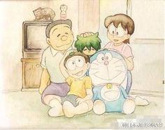 Doraemon & family