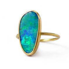 Laurie Kaiser opal ring.