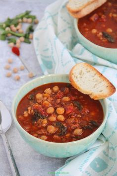 This Chorizo and chickpea stew is a nutrition packed bowl of comfort. It is the perfect blend of heat from the chorizo, sweetness of the apricots and tomatoes and nutty flavor from the chickpeas. I have adapted this recipe from nigella lawson. Chickpea Stew, Red Chili Peppers, How To Dry Rosemary, Cinnamon Powder, Nigella Lawson, Spinach Leaves, Chickpeas, Chorizo, Chana Masala
