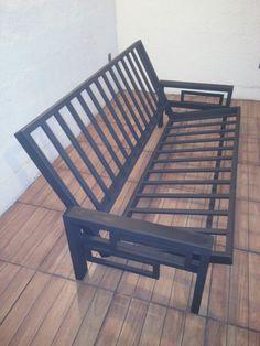 Futon cama hierro