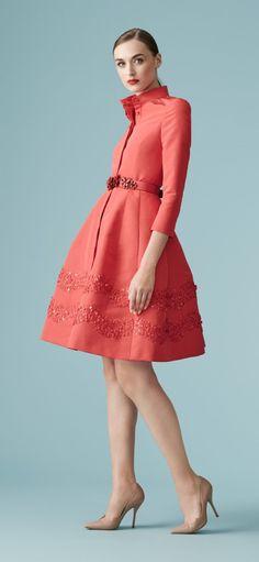 Carolina Herrera New York - Resort 2017 Love Fashion, Runway Fashion, Fashion Outfits, Womens Fashion, Fashion Weeks, London Fashion, Lovely Dresses, Beautiful Outfits, Vestidos Carolina Herrera