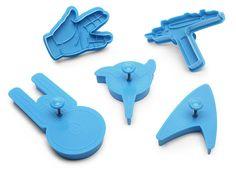 Star Trek Cookie Cutters