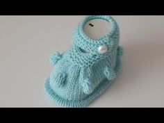 Baby Knitting, Crochet Baby, Baby Booties, Baby Shoes, Knit Boots, Applique, Youtube, Clothes, Fashion