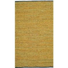 Gold Leather Matador 8`x10` Rug with Free Shipping! $149.99