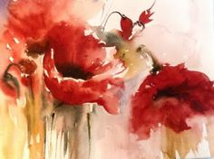 The Watercolour Log: Flower Paintings in Watercolour