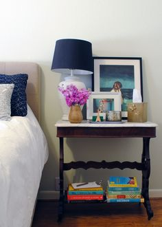 // Nightstand Styling by Modern Eve
