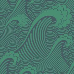 Waves of Chic removable wallpaper...really good website!