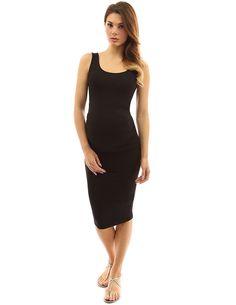 41adc67e405 PattyBoutik Mama Scoop Neck Maternity Tank Dress at Amazon Women s Clothing  store
