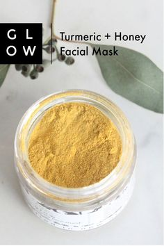 Our Glow facial mask is handmade with organic honey, which helps to gently cleanse and moisturize your skin, and turmeric, which helps reduce inflammation and reduce the appearance of scars. In India, turmeric is used ceremoniously before weddings as a good luck charm that results in soft, glowing skin. Turmeric's antiseptic, anti-inflammatory, antibacterial, anti-fungal, and anti-viral properties help with various skin problems relating to inflammation, clogged pores, redness, uneven skin…