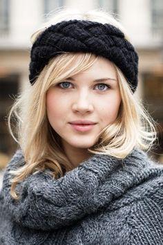 Resultado de imagem para receitas de tiaras e faixas de cabelos de tricô