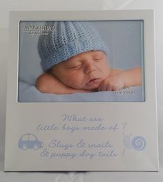 Baby Boy Picture Frame Great gift for the birth of a beautiful baby boy White Nursery, Baby Nursery Decor, Girl Nursery, Baby Boy Pictures, Boho Diy, Beautiful Babies, The Ordinary, Christening, Little Boys