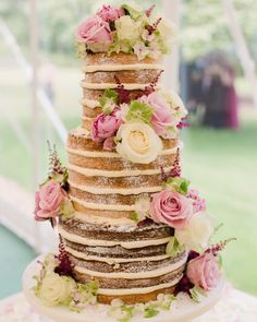 """""""Cake for breakfast? Yes please, and make it a generous slice  Cake by @vanillacakedesign  Photography by @fayecornhillphotography"""""""