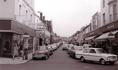 "Per previous pinner ""George Street, Hove - childhood (& teenage) memories - I particularly remember de Marcos ice cream parlour and later the Ballerina coffee bar where I spent a good deal of my misspent youth."""