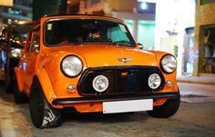 "autostream: "" Combine the nimble Mini with huge slicks? You're in for some fun. Mini Cooper S, Rover Mini Cooper, Mini Cooper Classic, Classic Mini, Classic Cars, Mini Morris, Minis, John Cooper Works, Morris Minor"
