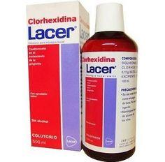 385666 Lacer Colutorio Clorhexidina - 500 ml.