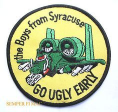 A10 Warthog, Air Force Patches, Hat Patches, Us Air Force, Aviation Art, Military Aircraft, Being Ugly, Fighter Jets, Cool Stuff