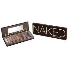 Eyeshadows: Virgin (nude satin), Sin (champagne shimmer), Naked (buff matte), Sidecar (beige spa...