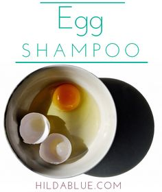 Make your own egg shampoo