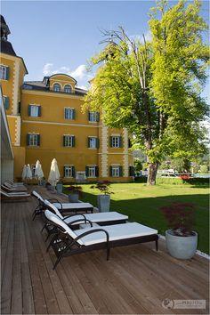 Acquapura Spa - Spa and wellness at Falkensteiner Schloss Hotel Velden at Wörthersee in Austria.
