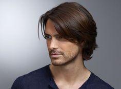 Cool Hairstyles For Men, Boys Long Hairstyles, Sleek Hairstyles, Haircuts For Long Hair, Long Curly Hair, Hairstyles With Bangs, Medium Hair Cuts, Long Hair Cuts, Medium Hair Styles